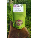 La sauvageonne (Tisane à base de thé du Labrador et pétales de rose)