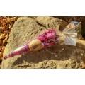Rose la vie (tisane de pétales de roses sauvages du Kamouraska)-Emballage festif
